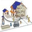 Водоснабжение частного дома: варианты, способы, оборудование