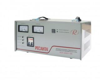 Однофазный стабилизатор напряжения Ресанта АСН-12000/1-ЭМ мощностью 12000 ВА предназначен для защиты и качественного...